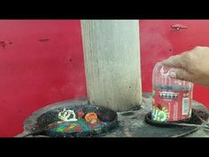 como hacer ladrillos con botellas pet - YouTube Recycling, Creations, Youtube, Diy, Painting, Woodworking, Concrete Pots, Recycled Bottles, Recycled Materials
