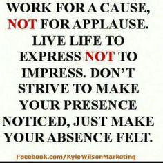 Living life with purpose! I love this! #joyfulliving