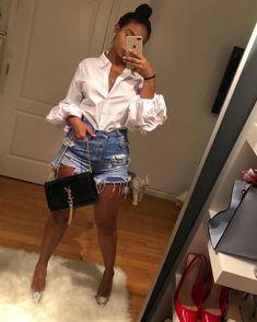 New moda casual femenina ideas bags ideas Outfit Chic, Chic Outfits, Trendy Outfits, Fall Outfits, Summer Outfits, Fashion Outfits, Womens Fashion, Summer Brunch Outfit, Fashion 2018