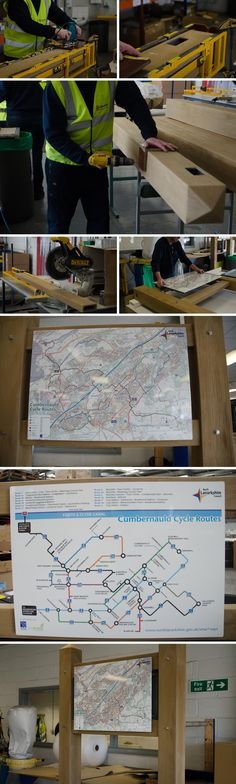 Assembly of our wood effect Glasdon Gateway with personalised signs for cycle route maps.  Glasdon Gateway is extremely versatile. With three colour options and a wide choice of widths, heights, bar configurations and styles, it can be specified to your exact requirements.