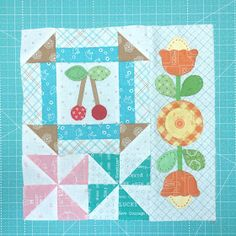 Welcome to the Bee Happy Sew Along! Today is week ten... and we only have a few more blocks:) YaY! Today's fi...