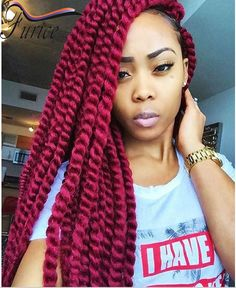 Crochet Hair Kit : on 2 2016 nice colorful havana mambo twist crochet box braids hair ...