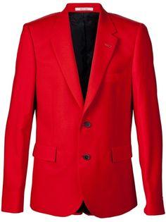 Paul Smith red wool blazer