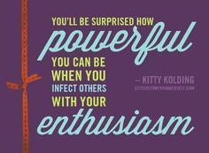 Enthusiasm Quotes. QuotesGram