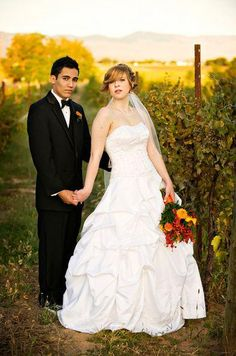 Dani and Eddie - Double Take Photography — at Woodriver Cellars.