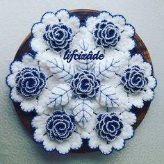 Crochet Flower Tutorial, Crochet Doily Patterns, Crochet Diagram, Crochet Doilies, Crochet Flowers, Knit Crochet, Hand Work Design, Woolen Craft, Hand Embroidery Tutorial