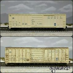 N-scale-weathered-Exactrail-Atlantic-Western-Evans-5277-Boxcar-ATW-4204