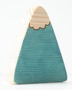 Baby Teether  Natural Wood Teether  Teething Toy by TwoFiveTree