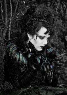 costumes ~ dark goth woman L: