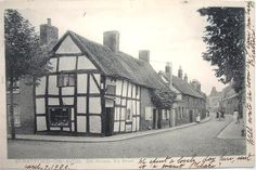 ENGLAND STRATFORD ON AVON SHAKESPEARE HOTEL OLD LABEL