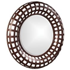 Howard Elliott 13346 Patrick Round Mirror Antique Black ** Details can be found by clicking on the image.