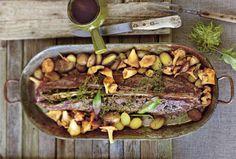Dieser saftige Rehbraten für's Weihnachtsfest ist ein echtes kulinarisches Erlebnis.