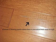 how to fix scratches & holes in hard wood floors! www