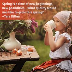 Spring is a time of new beginnings and sweet spring teas. Similar to fruits and vegetables, tea has a specific season when it is prime fo. New Beginnings, Fruits And Vegetables, Teas, New Product, Harvest, Weather, Seasons, Spring, Sweet