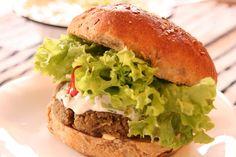 Coś Dobrego by Agnieszka: Burger z soczewicy - zdrowy i pyszny