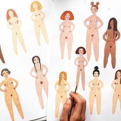 Painting naked ladies again❤️This time for the cover of a very interesting book #art #arte #artwork #artist #instaart #instaartist #wip#artistsoninstagram #illustrator #illustration #fotinitikkouillustration
