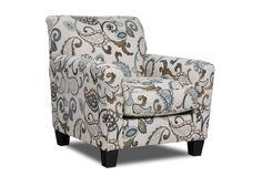 Yvette Steel Accent Chair