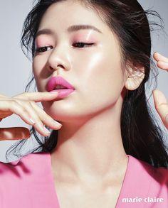 원피스 루키버드 pink makeup