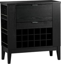Parker Spirits Cabinet    Crate and Barrel