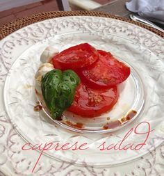 caprese salad | cooking from the heart