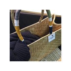 Handmade- palm leaves basket bag