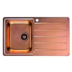Alveus Line 20 Inset Sink in Gold Inset Sink, Ceramic Sink, Sink In, Copper, Stainless Steel, Ceramics, Wallet, Gold, Collection