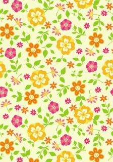 Free floral (and other designs) printable papers.