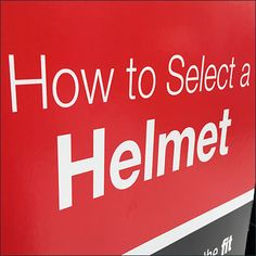 """This How To Select a Bicycle Helmet Instructions promo has widespread appeal. Everyone likes to a """"How To"""" because we want to make intelligent decisions Bicycle Helmet, Bicycles, The Selection, Company Logo, Retail, Cycling Helmet, Bike, Sleeve, Bicycle"""