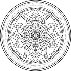 real alchemy transmutation circles - Sök på Google