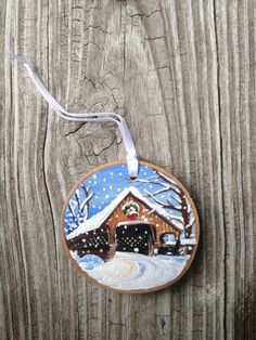 Hey, I found this really awesome Etsy listing at https://www.etsy.com/listing/205893906/woodstock-vermont-winter-covered-bridge