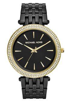 Premium Michael Kors DARCI - Horloge - schwarz Zwart: € 249,95 Bij Zalando (op 13-9-16). Gratis bezorging & retournering, snelle levering en veilig betalen!
