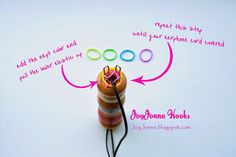 JoyJonne Hooks: Pimp your earphone cord