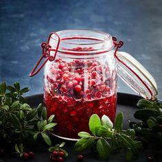 Pulmupuolukka – katso resepti! | Meillä kotona Vegetables, Red, Vegetable Recipes, Veggies