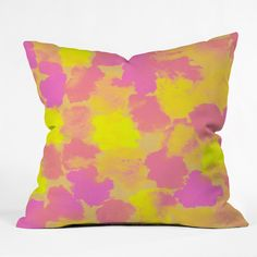 Rebecca Allen Spring Fevers Throw Pillow | DENY Designs Home Accessories