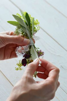 Wildflower wedding - part tie a flower bracelet for bridesmaids yourself Flower Bracelet, Wild Flowers, Bracelets, Plants, Wedding, Bridesmaids, Tie, Wildflowers Wedding, Flower Jewelry