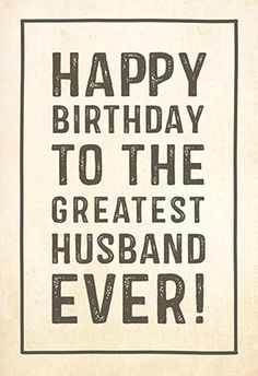 """Greatest Husband"" printable card. Customize, add text and photos. Print for free!"