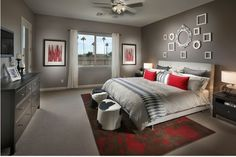 Teen Bedroom. Awesome!!! Except in PURPLE