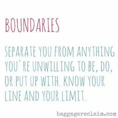 Boundaries. A recovery from narcissistic sociopath relationship abuse. Give Them A Voice is an advocacy foundation, dedicated to raising awarness of the impact and long term effect of sexual abuse on boys as they grow into men. www.noworkingtitle.org
