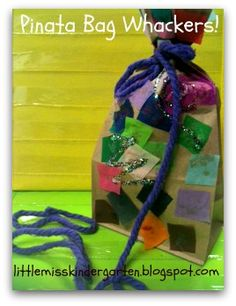 Individual Pinatas. Little Miss Kindergarten - Lessons from the Little Red Schoolhouse!: Bag Whackers!