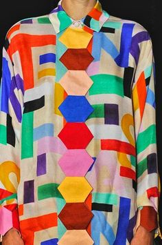 PATTERN OF THE DAY | COLOUR BLOCKING FASHION — Patternity
