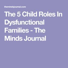 dysfunctional families and drugs From the honeymooners to mad men, these are tv's 20 most dysfunctional families  is a former drug dealer battling als  living in montreal whose own dysfunctional family makes the.