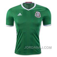 http://www.jordanaj.com/2016-mexico-home-green-soccer-jersey-shirt.html 2016 MEXICO HOME GREEN SOCCER JERSEY SHIRT Only $67.00 , Free Shipping!