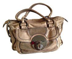 Mimco Double Handle Leather Bag #Mimco #ShoulderBag