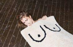 Cold Picnic, Private Parts: Boobs Rug Mohawk Carpet, Miss Moss, Private Parts, Textiles, Hand Tufted Rugs, Carpet Colors, Red Carpet, Vintage Design, Cotton Quilts