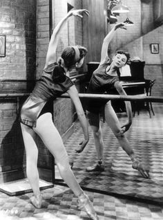 Everyone knows her for breakfast at Tiffanys but i doubt anyone ever knew she was a ballerina and good one too.