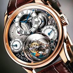 #zenith #movement  #exclusive #watch #mostwanted #masterpiece #tourbillon #complicated #tiktak #swiss #beautiful