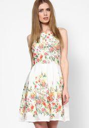 d6a4d8b47c Buy Elle White Dress Online - 4584404 - Jabong