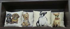 Decora tus sillones y sofás con el toque alegre y divertido de nuestras almohadas.