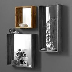 Takara Mirror Small. Seems like an easy DIY and good idea for small space!