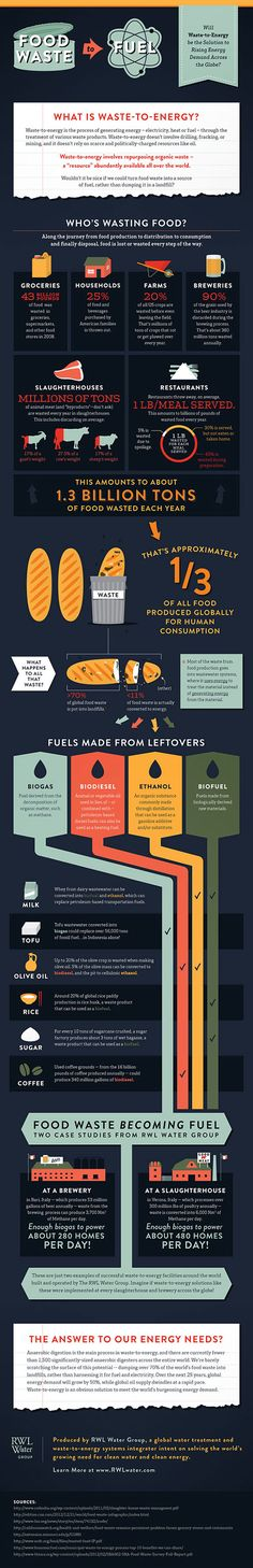 Infographic: Food Waste to Fuel